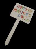 Happy Mothers Day Pick 17.5 x 7.5cm x 12pcs