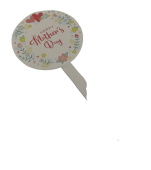 Happy Mothers Day Pick 17.5 x 7.8cm x 12pcs