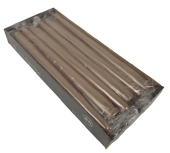 Tapered Candles 250/23 x 12pcs Dark Copper