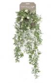 Rose Mini Hanging Bush 75cm Cream