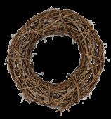 Rattan Wreath (Wire Base) 50cm