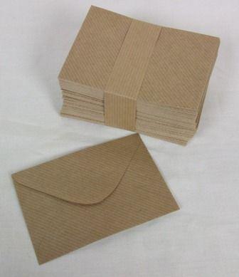 Brown Kraft Envelopes Pack 100