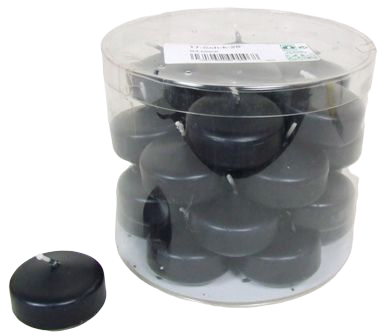 Floating Candle Small 94 Black x 28