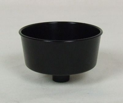 Black Small Candle Cups x 10