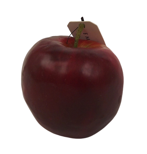 Apple w weight 7.5cm Red