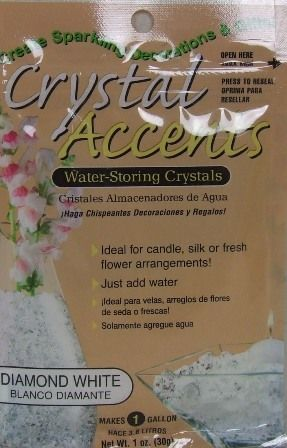 Crystal Accents - Diamond White