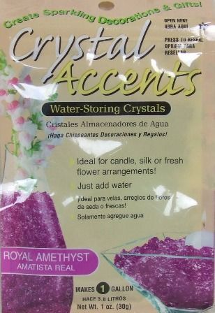 Crystal Accents - Royal Amethyst
