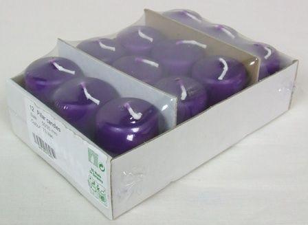 50/35 Pillar Candle x 12 Lilac