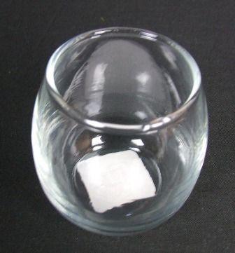 Rolypoly Votive 5oz Clear Glass