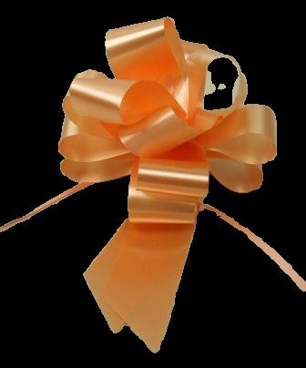 50mm Peach Pull Bow's x 20