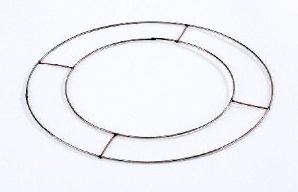 Flat Wire Wreath Rings 10