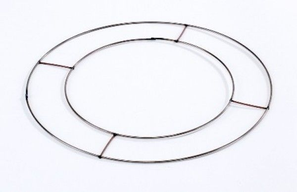 Flat Wire Wreath Rings 14
