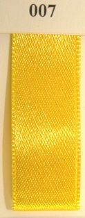Double Face Satin 3.5mmx50Mtr Yellow