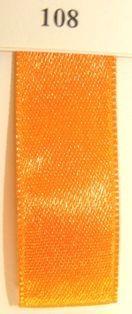 Double Face Satin 3.5mmx50Mtr Orange