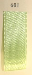 Double Face Satin 6.5mmx50Mtr Lime Green