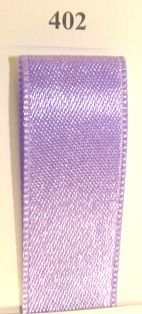 Double Face Satin 6.5mmx50Mtr Lavender