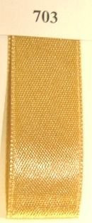 Double Face Satin 10mmx50Mtr Gold