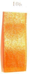 Double Face Satin 3.5mm x 50Mtr Burned Orange
