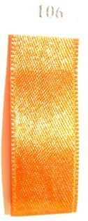 Double Face Satin 16mm x 50mtr  Burned Orange