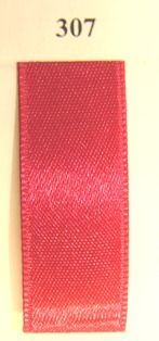 Double Face Satin 16mm x 50mtr  Cherry