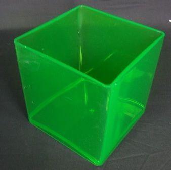 15x15 cm Design Cube - Apple Green