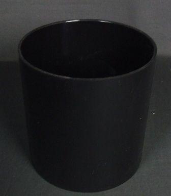 15 x 15cm Design Cylinder - Black