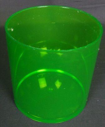 15 x 15cm Design Cylinder - Apple Green