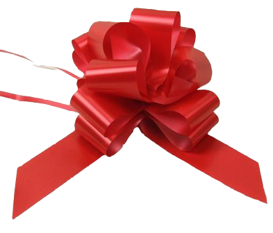 50mm Pull Bows Super Red