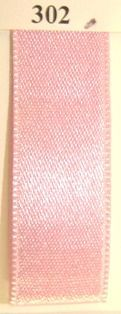 Double faced Satin Ribbon Pastel Pink 10mm x 50mtr