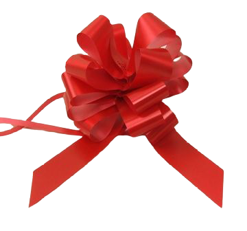 31mm Super Red Pull Bow x 30
