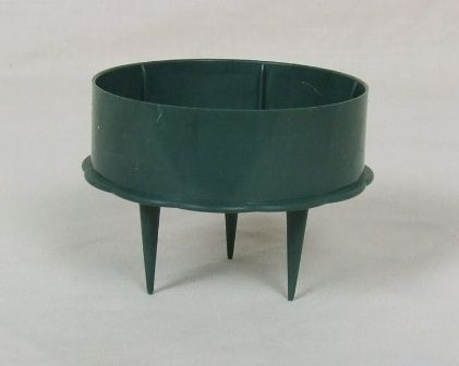 3inch Green Candle Holder x 10