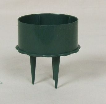 2inch Green Candle Holder x 10