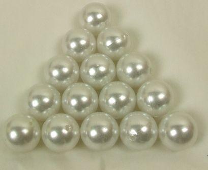 Beads-White(20mm)