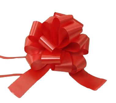 31mm Pull Bows Red