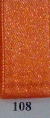 Double Face Satin 10mmx50Mtr Orange