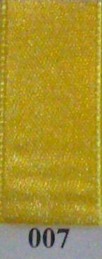 Double Face Satin 10mmx50Mtr Light Yellow