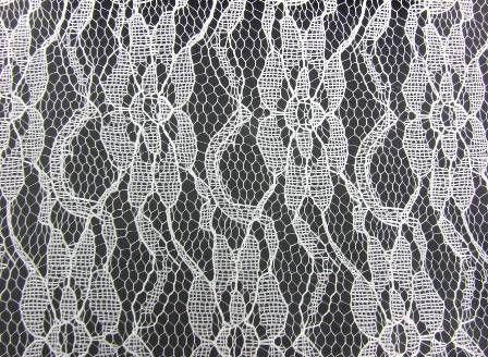 15cm x 10mtr Lace Spool Ivory