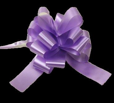 31mm Pull Bows Lavender x 30pcs