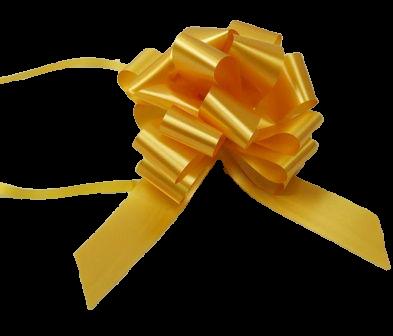 31mm Pull Bows Gold x 30pcs