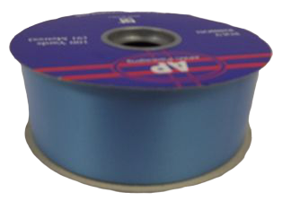 2inch x 100yds Polypro Ribbon Azure Blue