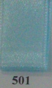 Double Face Satin 10mmx50Mtr Light Blue