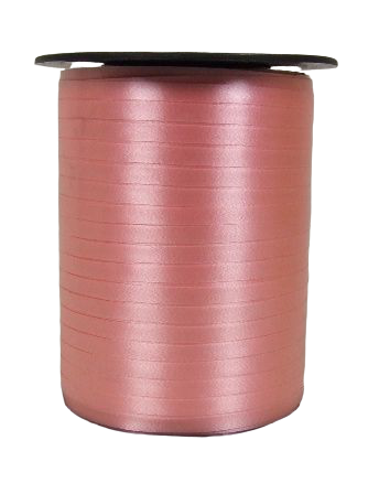 5mm x 500mtr Curling Ribbon Soft Pink