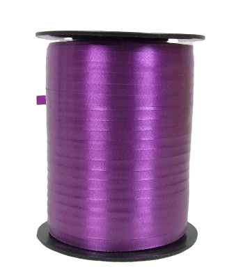 5mm x 500mtr Curling Ribbon Plum