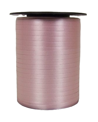 5mm x 500mtr Curling Ribbon Baby Pink