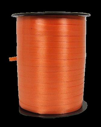 5mm x 500mtr Curling Ribbon Orange