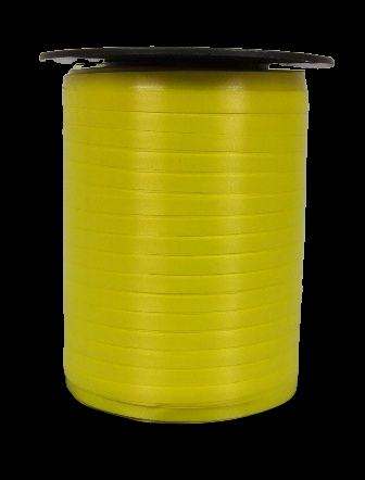 5mm x 500mtr Curling Ribbon Daffodil