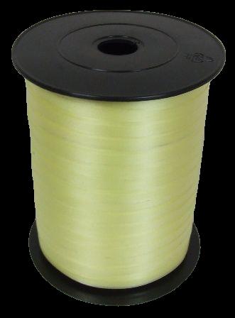 5mm x 500mtr Curling Ribbon Cream