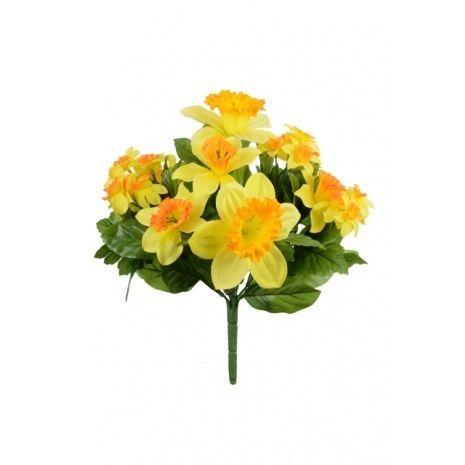 Daffodil Bush Orange-Yellow 32cm