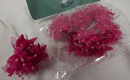 Babies Breath Hot Pink x 12 Stems x 6 Bunches