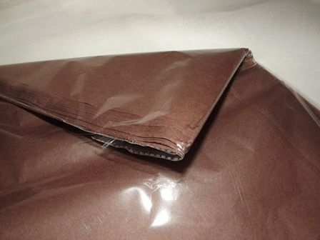 20 x 30inch Chocolate BrownTissue Paper x 240 Sheets
